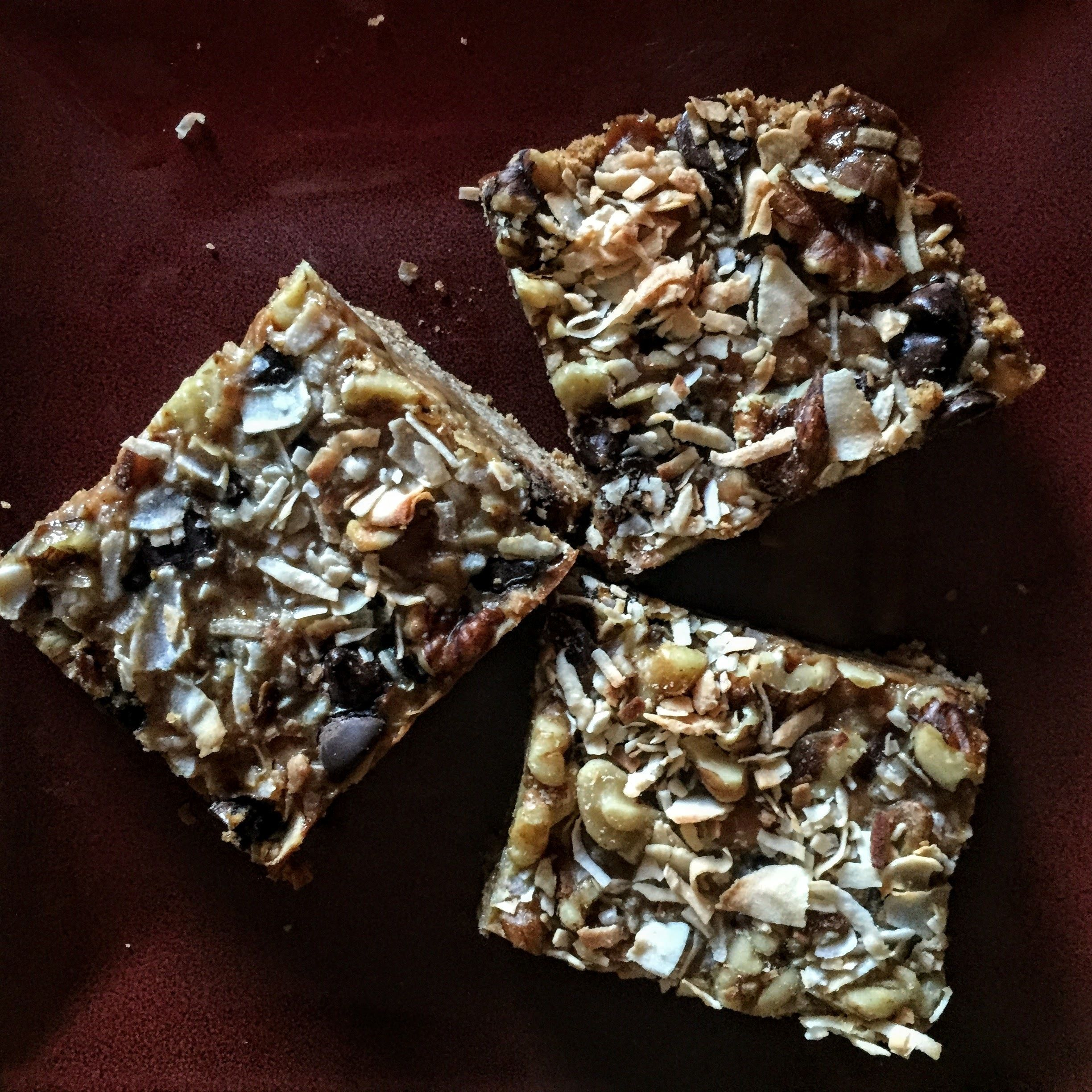 Caramel Pumpkin Magic Bars