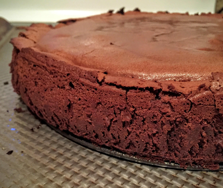 Double-Baked Molten Lava Cake