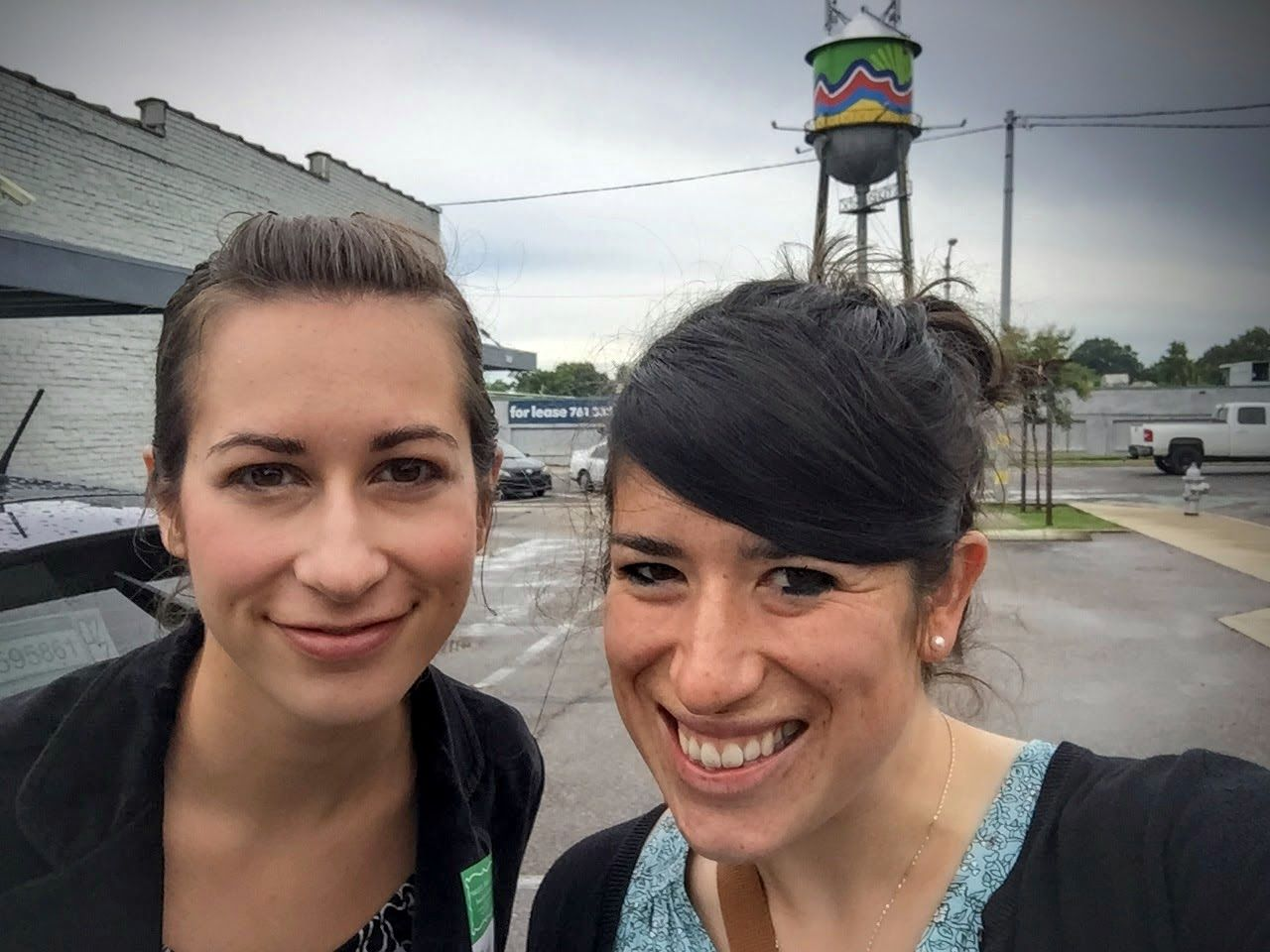 Of course, Sarah and I took a selfie after our tour concluded! We enjoyed touring (and eating) Muddy's, and we highly recommend that you schedule a tour!